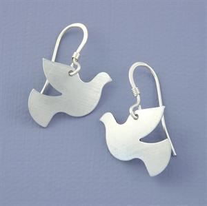 Picture of Aluminium Petite Dove Earrings JE20-A