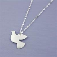 Picture of Aluminium Petite Dove Necklace JS20-A