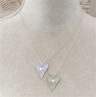 Picture of Bridal Slim Heart Pendant