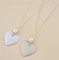 Picture of Bridal Round Heart Pendant