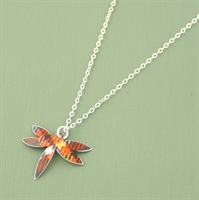 Picture of Tartan Petite Dragonfly Necklace