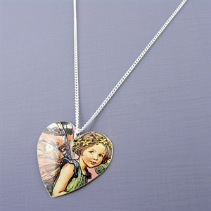 Picture of Fairy Round Heart Pendant