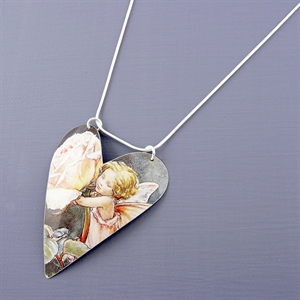 Picture of Fairy Large Heart Necklace