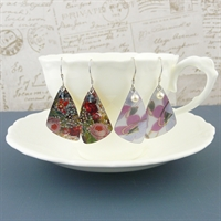 Picture of Butterfly Wing Earrings WT-E04