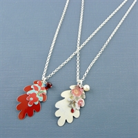 Picture of Oak Leaves Necklace JS18b