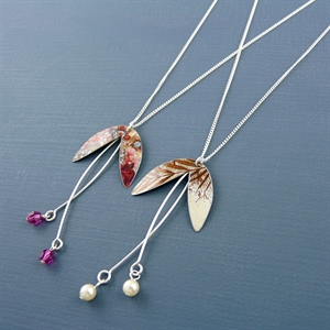 Picture of Sycamore Seed Necklace JS19b