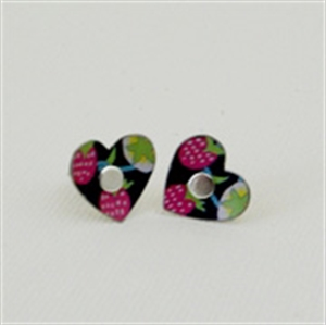 Picture of Liberty Round Heart Studs JE10