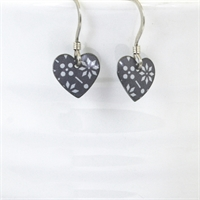 Picture of Grey Round Heart Earrings JE1-GC