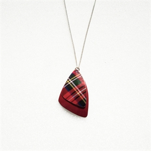 Picture of Tartan Butterfly Wings Necklace