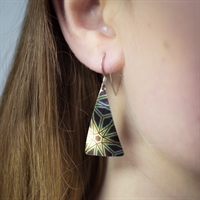 Picture of Geo Large Triangle Earrings JE52