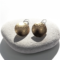 Picture of Geo Gold Disc Earrings JE-51