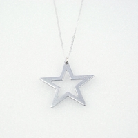 Picture of Aluminium Star Necklace JS11