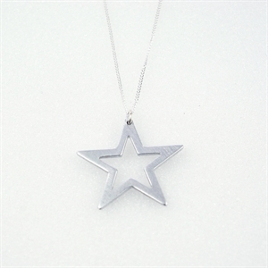 Picture of Aluminium Star Necklace JS11