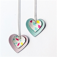 Picture of Fiesta Double Heart Necklace FS25